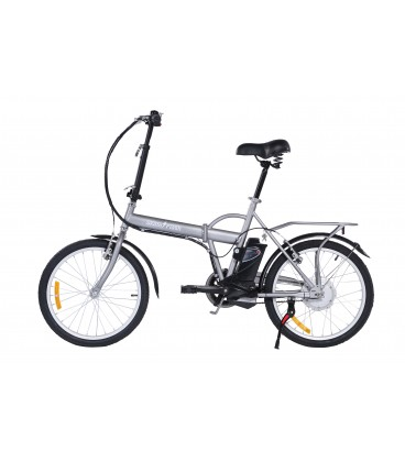 Skateflash Folding E-Bike Gris