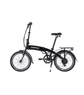 Skateflash E-Bike Pro Plegable Negra