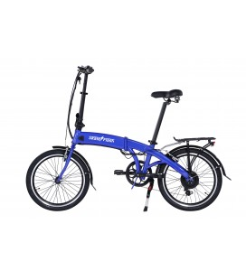 Skateflash Folding Pro E-Bike Blue