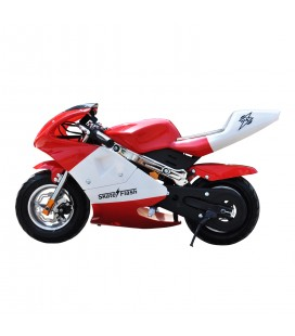 Skateflash Pocket Bike Red