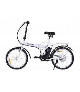 Skateflash Folding E-Bike White