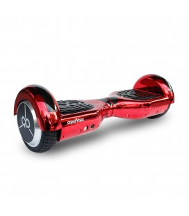 Skateflash K6 Chrome Rojo Bluetooth + Bolsa de transporte